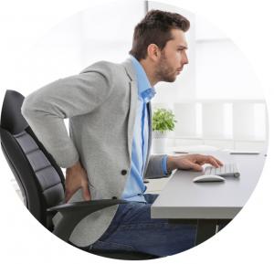 Problemas de postura no trabalho: conheça a solução